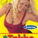 Sabrina als Takko-Model (2000)