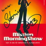 Sabrina als Moderatorin der Mission Morningshow (2001)