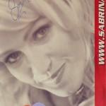 Autogrammkarte für Promotion eines Coiffeurs in NRW