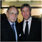 Hans Dietrich Genscher mit Thomas Graf von Luxburg
