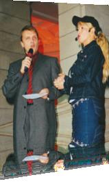 Sabrina moderiert mit Hape Kerkeling
