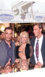 Sabrina mit Jürgen und Zlatko