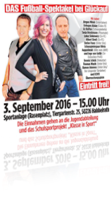 Sabrina moderiert Kick it like BILD