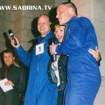 Moderation einer Promotion mit Hape Kerkeling und Sabrina im Berliner Postmuseum.
