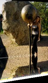 Sabrina Lange unterwegs im Harz