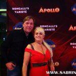 Sabrina und Graf von Luxburg zu Gast in Roncalli's Varietè Apollo
