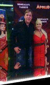 Sabrina Lange zu Gast in Roncalli's Variete Apollo