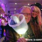 """Sabrina backstage bei """"Tanz unterm Regenbogen"""""""