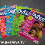 Wöchentlich erschien das Big Brother Journal am Zeitungskiosk. Seit ihrem Einzug im April 2000 war Sabrina meistens auf der Titelseite zu finden.
