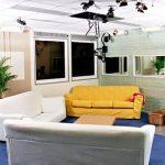 Das Wohnzimmer des Big Brother Containers