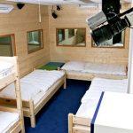 Schlafzimmer (Mädels) im Big Brother Container