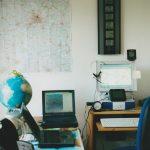 In den Räumen dieser Berliner Wetterstation entstand Sabrinas Internetseite...