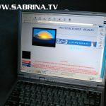 Werkzeug des Big Bella Webmasters: Der Laptop Baujahr 2000...