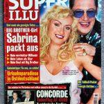Covergirl auf zahlreichen bunten Zeitschriften: Sabrina nach ihrer Big Brother Zeit.