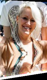 Sabrina Lange beim Fest der 1000 Laternen in Augustfehn