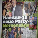 Sabrina in der BILD Hamburg vom 11.09.2018