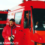 Sabrina Lange auf Mission Morningshow mit der Berliner Feuerwehr