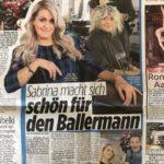 Sabrina mit Jürgen in der BILD, 15.04.2019