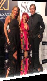 Sabrina Lange und Thomas Graf von Luxburg auf der Spectacolo Amace Charity Gala der SKWelcome Home Stiftung am 30.11.2019