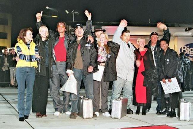 Einzug der Ur-Einwohner von Big Brother Staffel 1 am 28.02.2000. Foto: Endemol