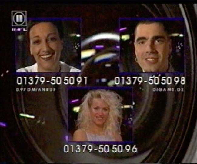 Televoting bei Big Brother der ersten Staffel. Screenshot: RTL II
