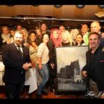 """Sabrina Lange moderiert auf der """"Charity Art & Literature"""" in Hamburg"""