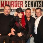 Sabrina Lange beim Anstich Hamburger Senatsbock 24.01.2020