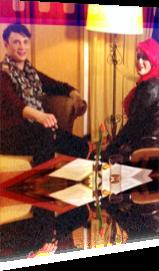 Sabrina Lange im Interview mit Fady Maalouf bei TV Goettingen