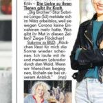 Sabrina Lange in der BILD, 24.11.2020